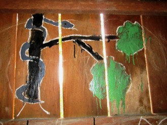 PK Public House, Kang Nuok village, schoolchildren drawings-Cobra